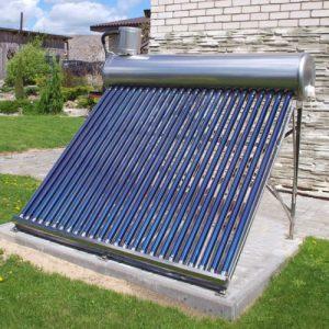 Saulės vandens šildytuvai